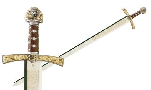 Preciosa Espada Ricardo Corazón de León