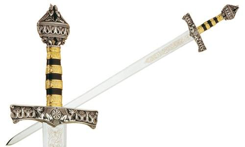 Espada Barbarroja con acabados en plata