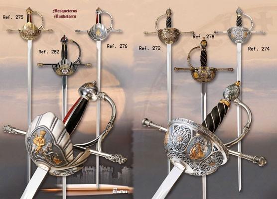 Espadas roperas renacentistas