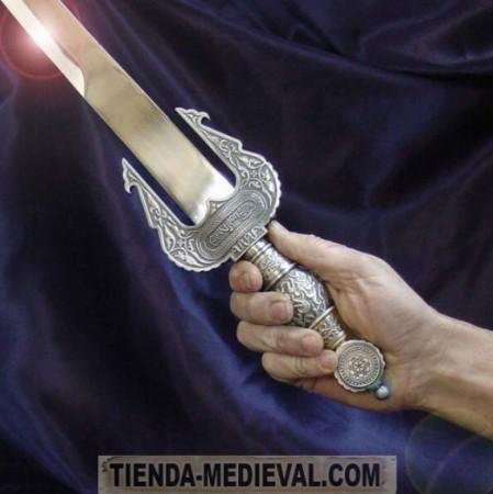 ESPADA JINETA PLATA 450x450 - Espada Jineta
