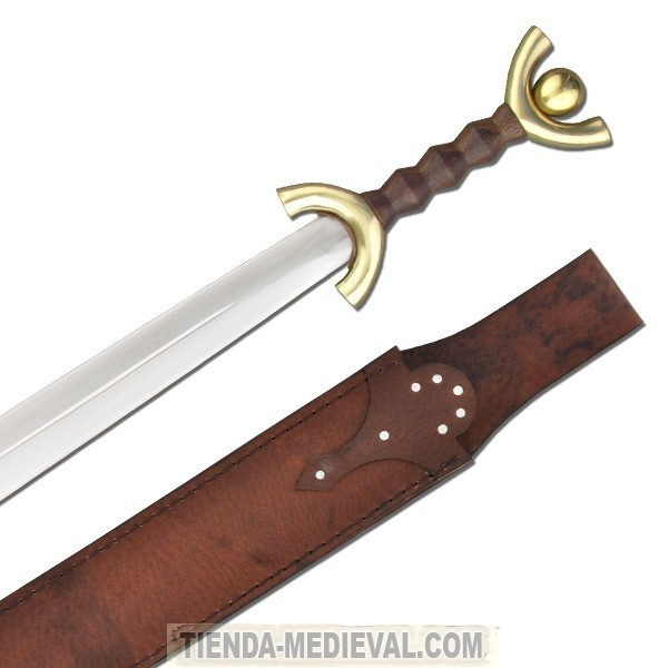 espada celta de antenas