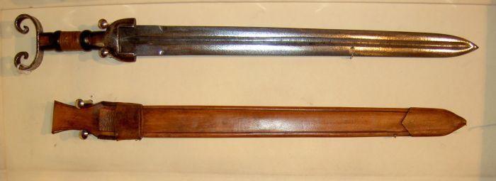 espada celta en viejo
