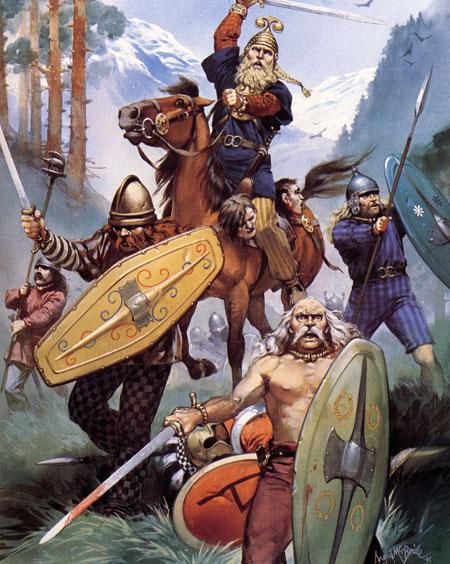 guerreros celtas - Espadas Celtas