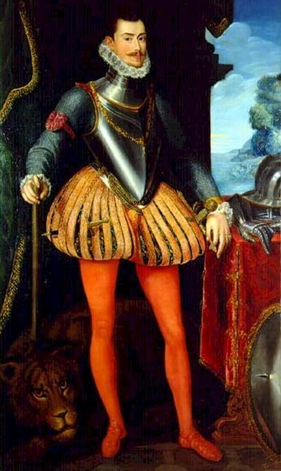 Cuadro con retrato de Juan De Austria