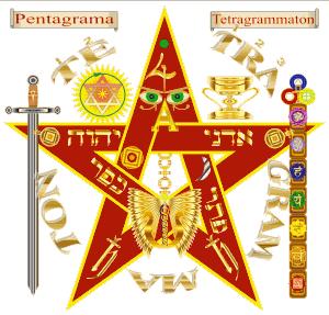 de pentagrama of pentagrama 300x287 - Espada Flamígera