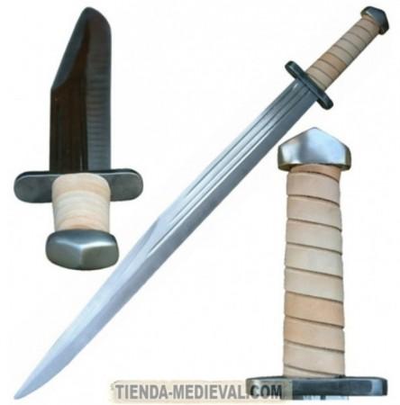 ESPADA VIKINGA ESCRAMASAJON 444x450 - Espadas Nórdicas
