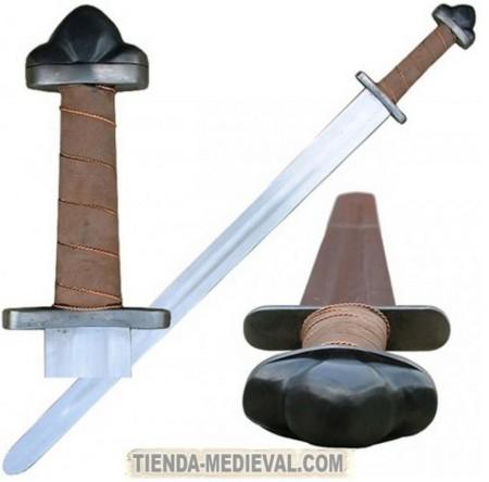 ESPADA VIKINGA FUNCIONAL 450x444 - Los Pomos de las Espadas Vikingas
