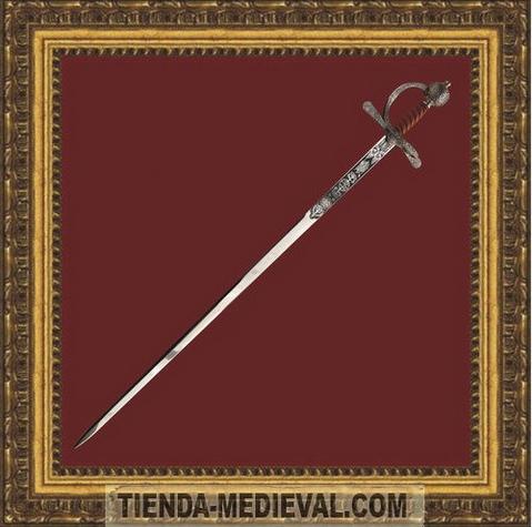 Espada de Sir Francis Drake - Espadas del Corsario Sir Francis Drake