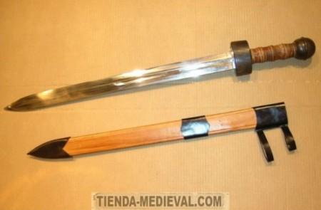 Espada romana Gladius de caballería 450x295 - Espada romana Gladius de caballería