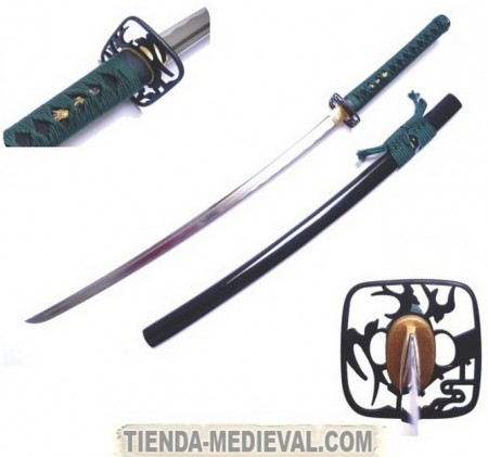 Iaito para prácticas 450x421 custom - Las Espadas Japonesas