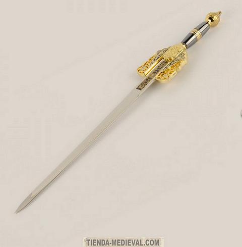 Abrecartas Espada Boabdil - Espada Jineta Rey Boabdil de Granada