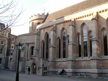 Iglesia del Temple en Londres