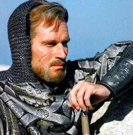 Charlton Heston - Las Espadas del Cid Campeador usadas en Bodas y Comuniones