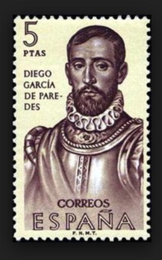 DIEGO GARCÍA DE PAREDES - Espada de Diego García de Paredes