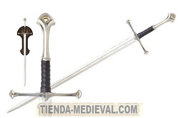 ESPADA ANDURIL ARAGORN DEL SEÑOR DE LOS ANILLOS - Espada Narsil de Aragorn