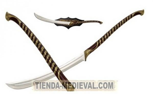 ESPADA ELFICA DEL SEÑOR DE LOS ANILLOS 598x369 custom - Espadas de El Señor de los Anillos con Licencia