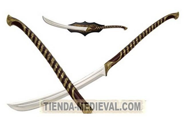 ESPADA ELFICA DEL SEÑOR DE LOS ANILLOS - Espada Anduril (Aragorn) del Señor de los Anillos
