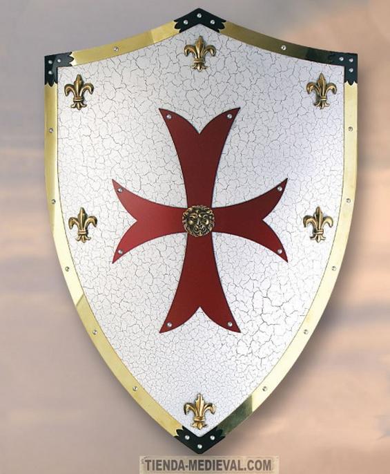 Escudo Cruzados - Espada de los Cruzados