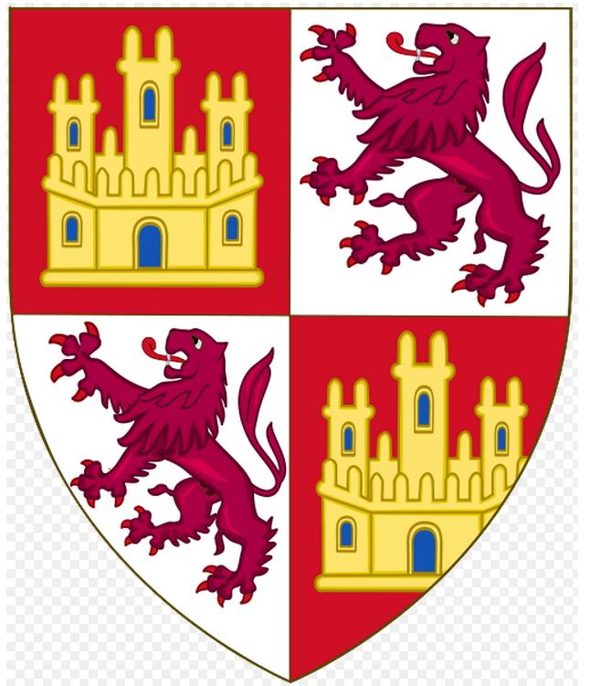 Escudo de Afonso X de Castilla - Espada de Alfonso X El Sabio