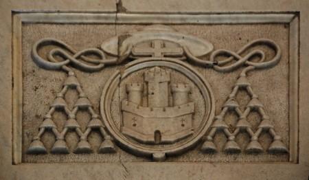 Escudo de Alfonso Carrillo de Acuña 450x262 - Escudo de Alfonso Carrillo de Acuña