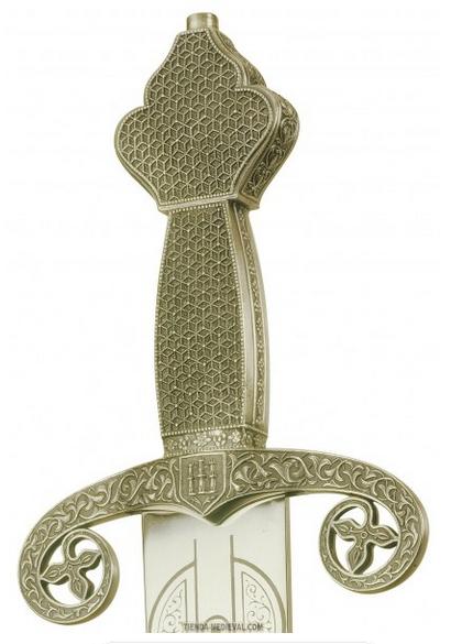 Espada Lobea de Fernando III - Espada de lujo Ricardo Corazón de León