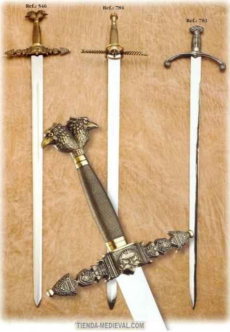 Las Espadas más famosas de la Historia