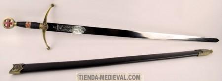 Espada de los Caballeros Cruzados 450x164 - Espada de los Caballeros Cruzados
