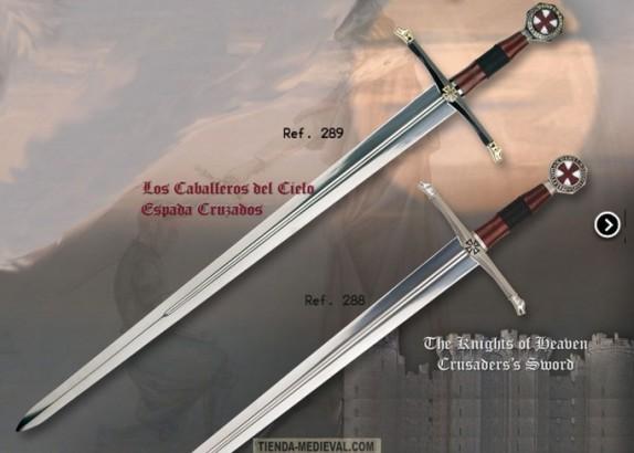 Espada de los Caballeros del Cielo