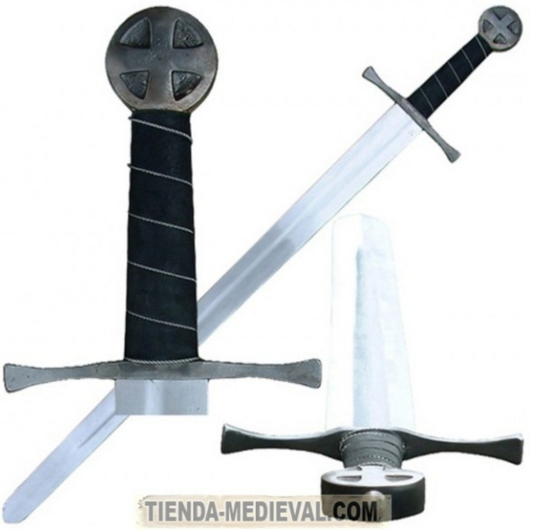 Espada funcional Cruzados - Espada de los Cruzados
