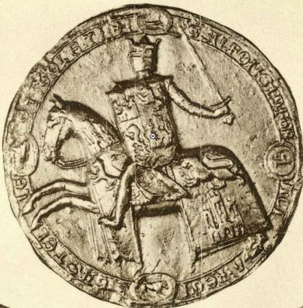 Sello de Alfonso X El Sabio 443x450 - Sello de Alfonso X El Sabio