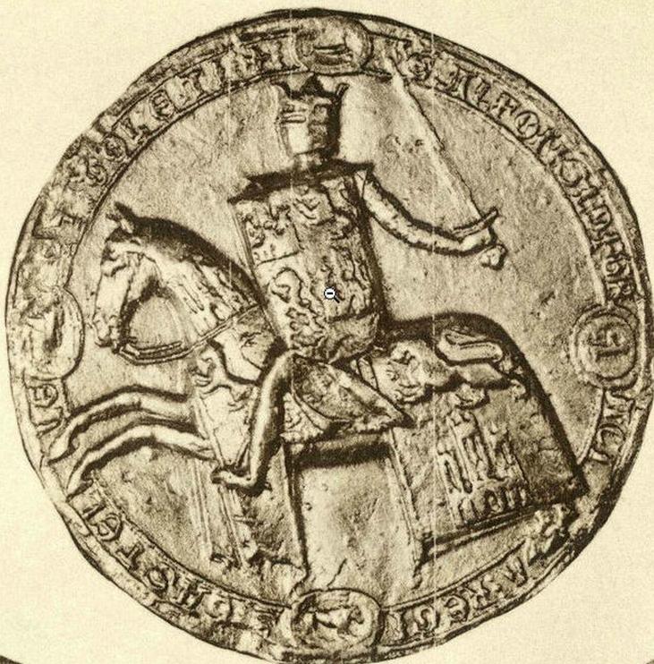 Sello de Alfonso X El Sabio - Espada de Alfonso X El Sabio