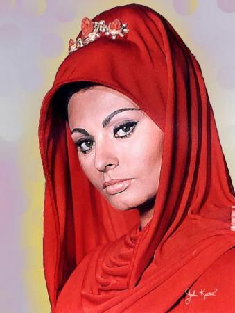 Sophia Loren 339x450 - Las Espadas del Cid Campeador usadas en Bodas y Comuniones