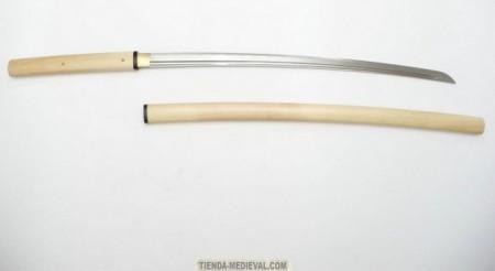 SHIRASAYA DE ACERO AL CARBONO 450x246 - Las Shirasayas japonesas