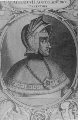 ALBERTO II DE AUSTRIA - Espada Mano y Media de Alberto II de Austria