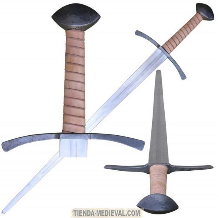 ESPADA GOTICA MANO Y MEDIA - El pomo de las espadas funcionales