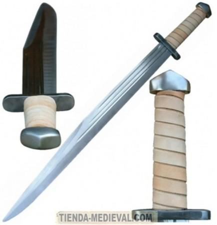 ESPADA VIKINGA ESCRAMASAJÓN 434x450 - Los Pomos de las Espadas Vikingas