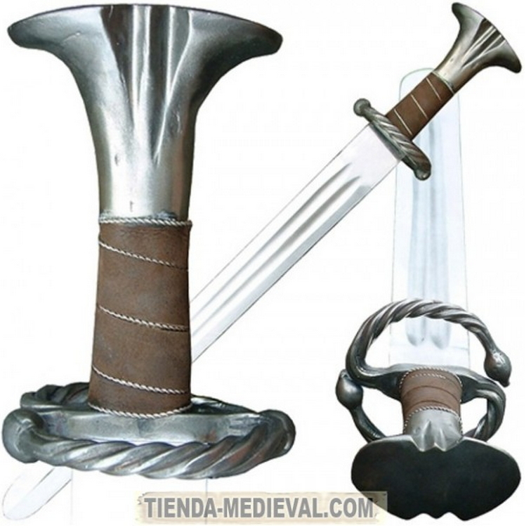 Espada Renacentista Katzbalger - Espada Mercenarios funcional del siglo XV