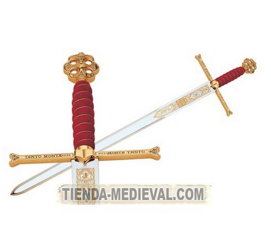 MANDOBLE REYES CATÓLICOS - Espada Reyes Católicos