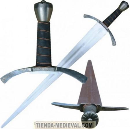 ESPADA GÓTICA DE LUJO 450x447 - Espadas Góticas Funcionales