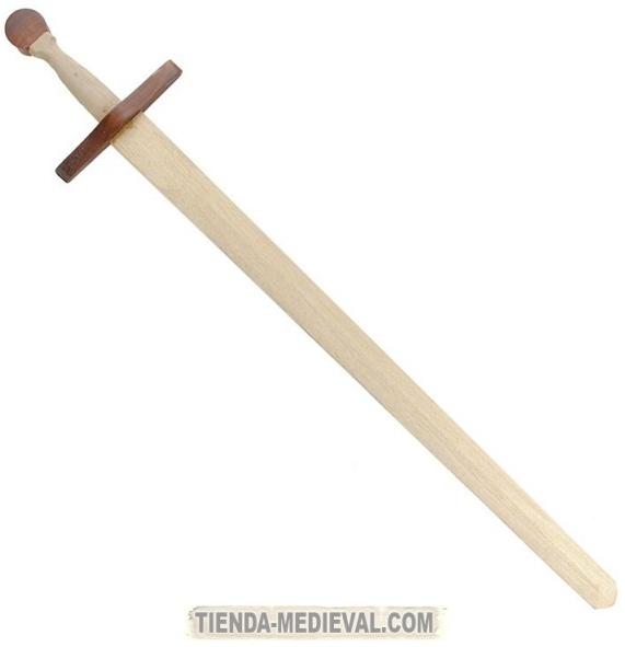 ESPADA MEDIEVAL DE MADERA - Espadas de madera para prácticas