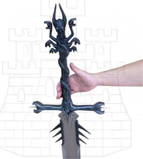 Espada Malefic Heavy Metal (empuñadura)