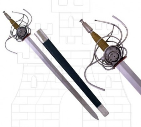 Espada Rapiera alemana siglo XVII 450x408 - Espada Rapiera alemana siglo XVII