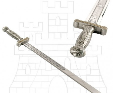 Espada legiones romanas en plata