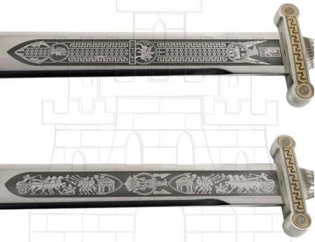 Espada legiones romanas plata