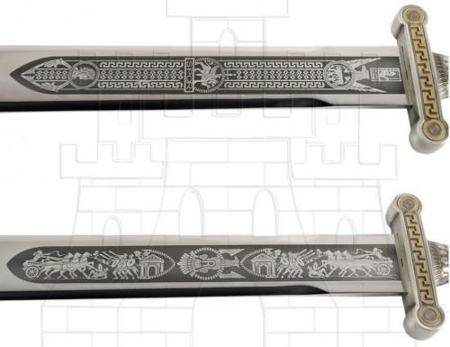 Espada legiones romanas plata - Espada legiones romanas plata