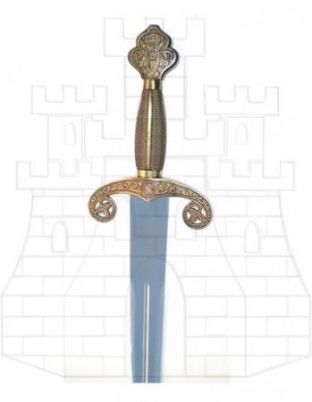 Espada Alfonso X puño costillas 349x450 - Espada de Alfonso X El Sabio