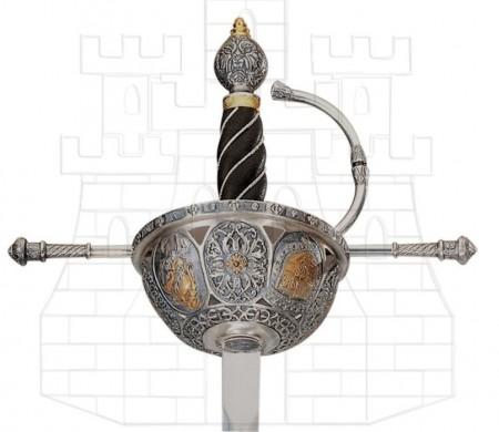 Espada Cazoleta Española siglo XVI 1 450x390 - Espada Cazoleta Española siglo XVI