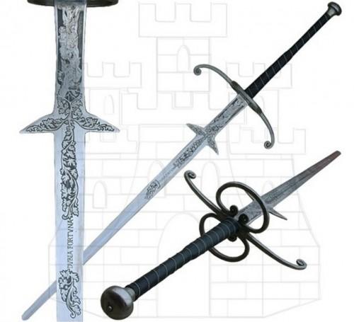 Espada Montante Renacentista - Tipos de Espadas Funcionales