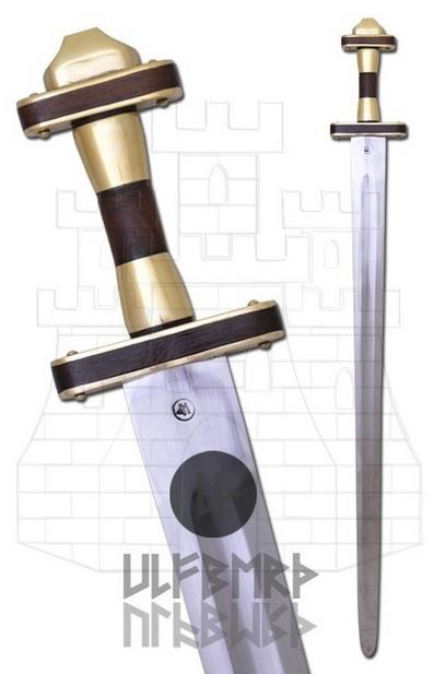Spatha Romana Germánica funcional Ulfberth - Me encantan las espadas funcionales y decorativas