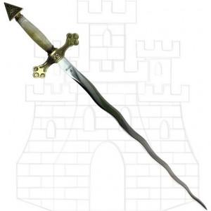 Espada Logia Masónica flamígera 300x300 - Espada Logia Masónica flamígera